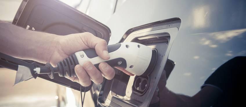 Solar Panels power electric vehicle