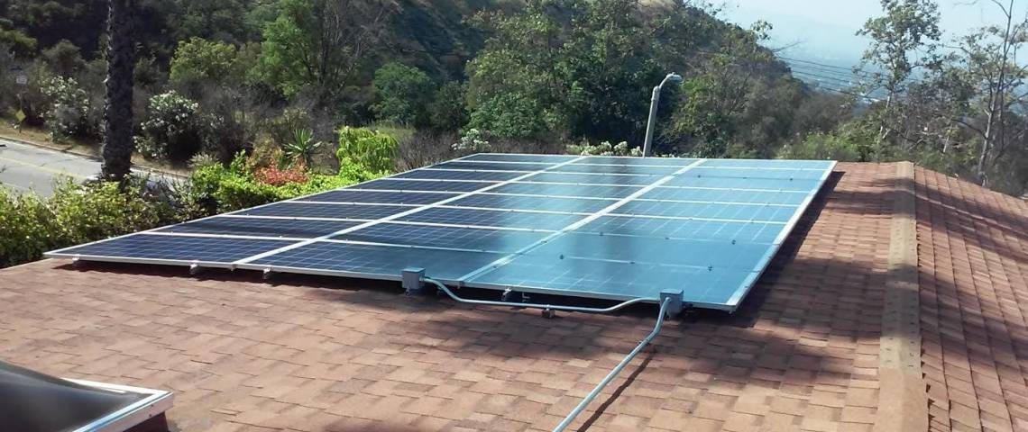 Solar Panel Installation in North Hollywood, CA - 2