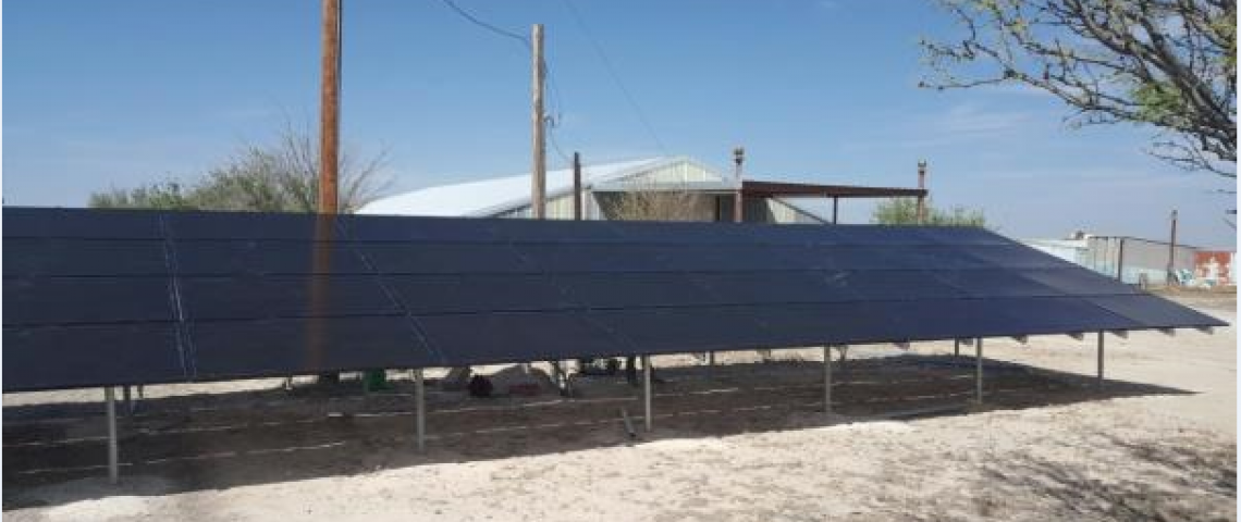Ground Mount Solar Installation in Ft. Stockton, TX - 5