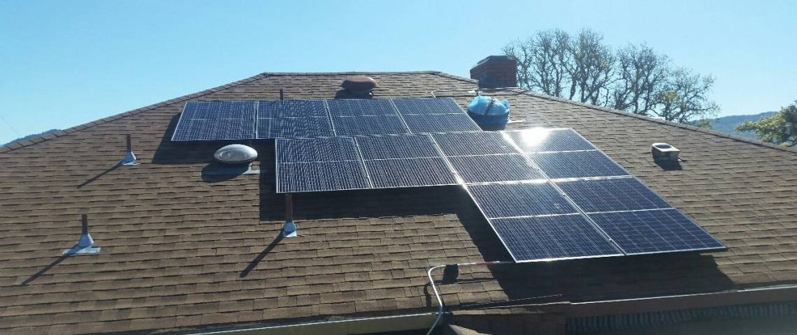 Roof Mount Solar Panel Installation in Willits, CA - 4