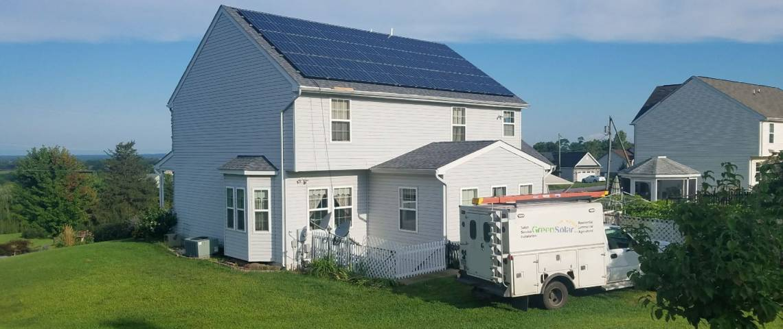 Roof Mount Solar Panel Installation in Waynesboro, PA - 1