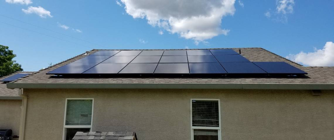 Roof Mount Solar Installation in Sacramento, CA  - 3