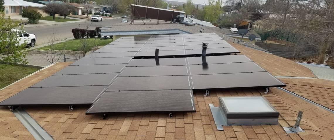 Roof Mount Solar Panel Installation in Farmington, NM - 3