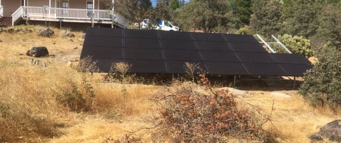 Solar Panel Installation in Round Mountain, CA - 2
