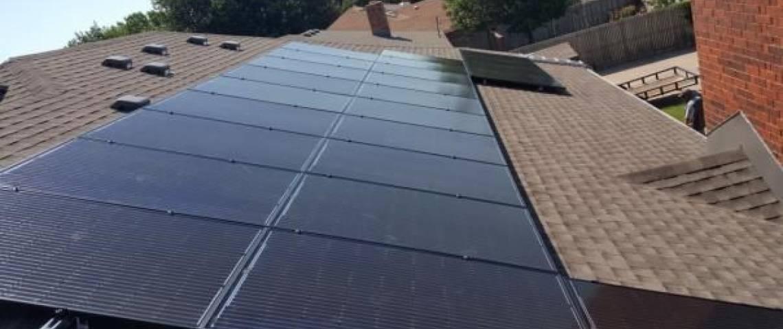 Roof Mount Solar Panel Installation in Amarillo, TX - 1