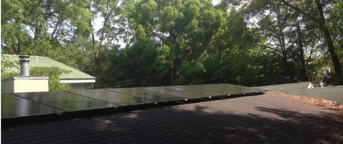 Roof Mount Solar Panel Installation in New Iberia, LA