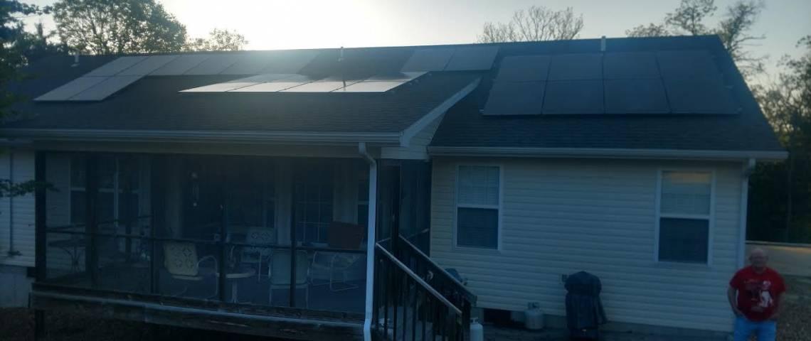 Branson, MO Solar Panel Installation - 2