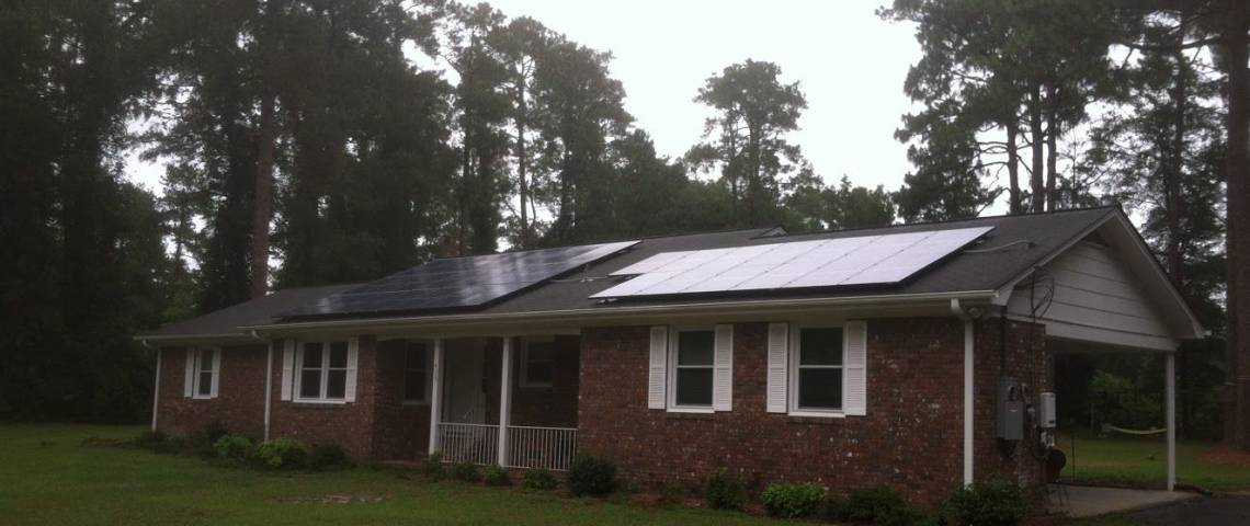 Roof Mount Solar Panel Installation in Darlington, SC - 4