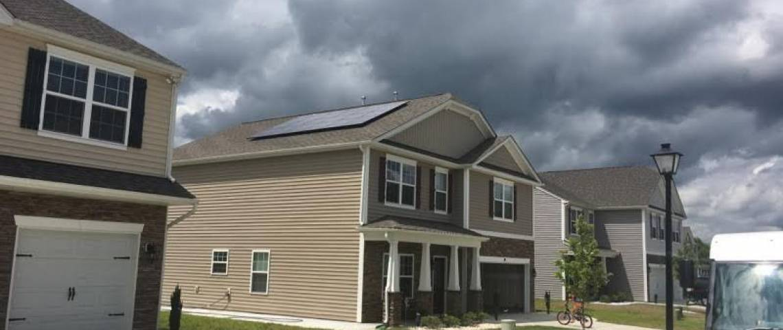 Roof Mount Solar Panel Installation in Pfafftown, NC - 3