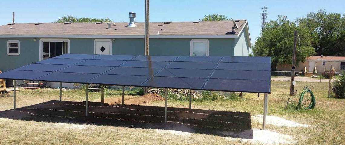 Texico, NM Solar Panel Installation - 3