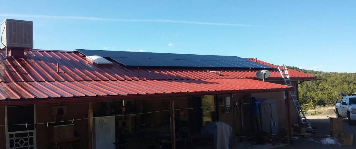 Solar Panel Installation in Corona, NM - 4