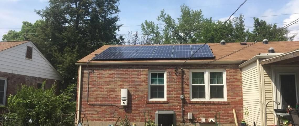 Roof Mount Solar Panel Installation in Saint Louis, MO - 2