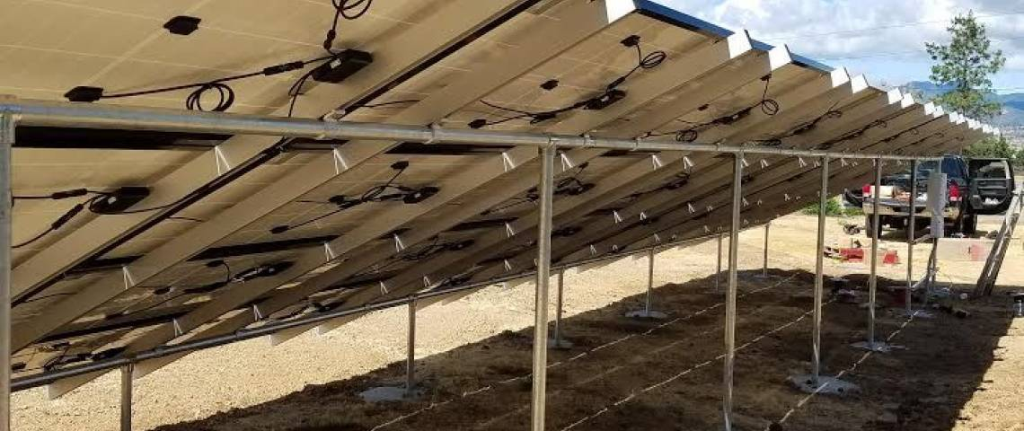 Ground Mount Solar Panel Installation in Montague, CA - 3