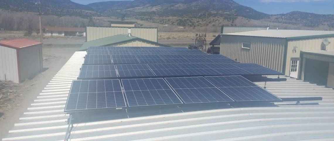 South Fork, CO Solar Panel Installation - 2