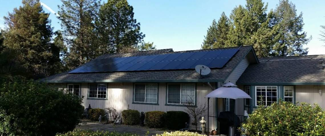 Roof Mount Solar Panel Installation in Redwood Valley, CA - 3