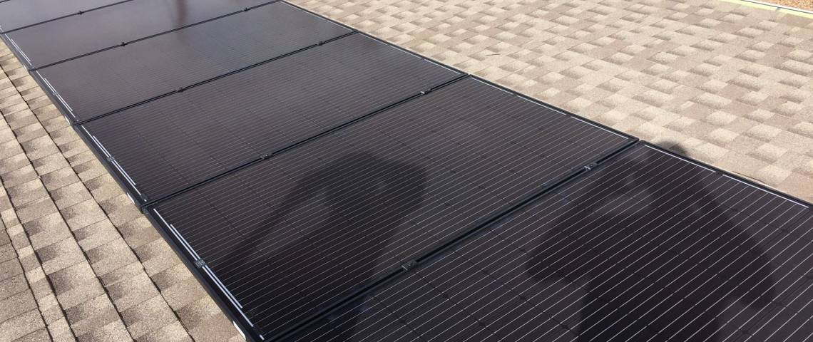 Roof Mount Solar Panel Installation in Amarillo, TX - 2