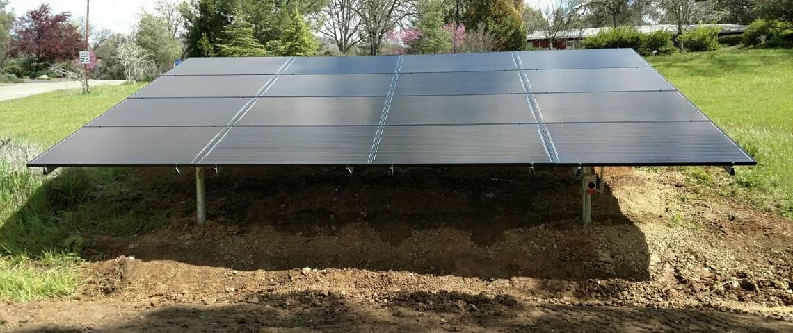 Ground Mount Solar Installation in Mariposa, CA - 8