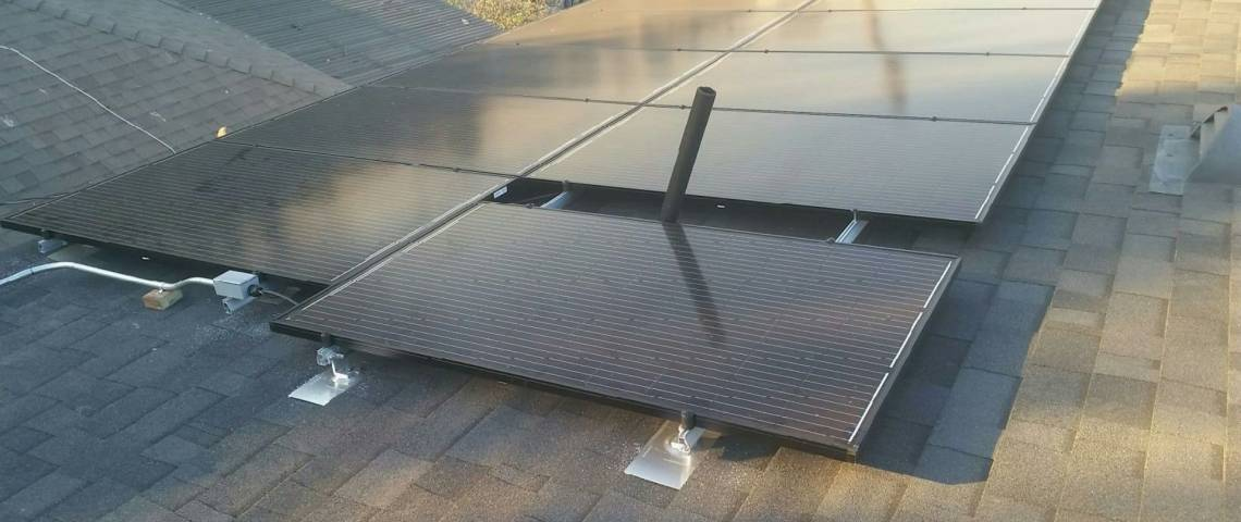 Solar Panel Installation in Los Angeles, CA - 1