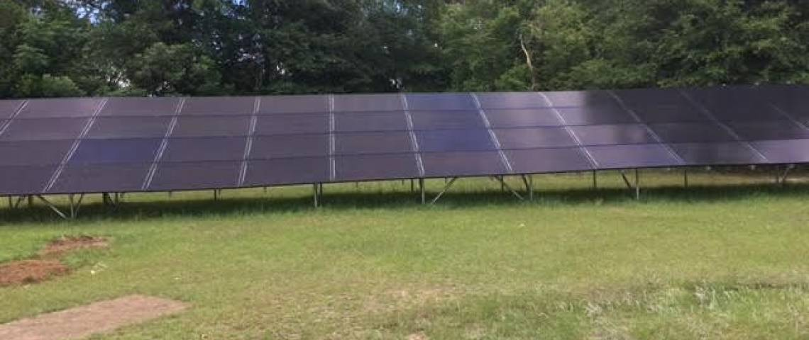 Ground Mount Solar Panel Installation in Jackson, SC - 2