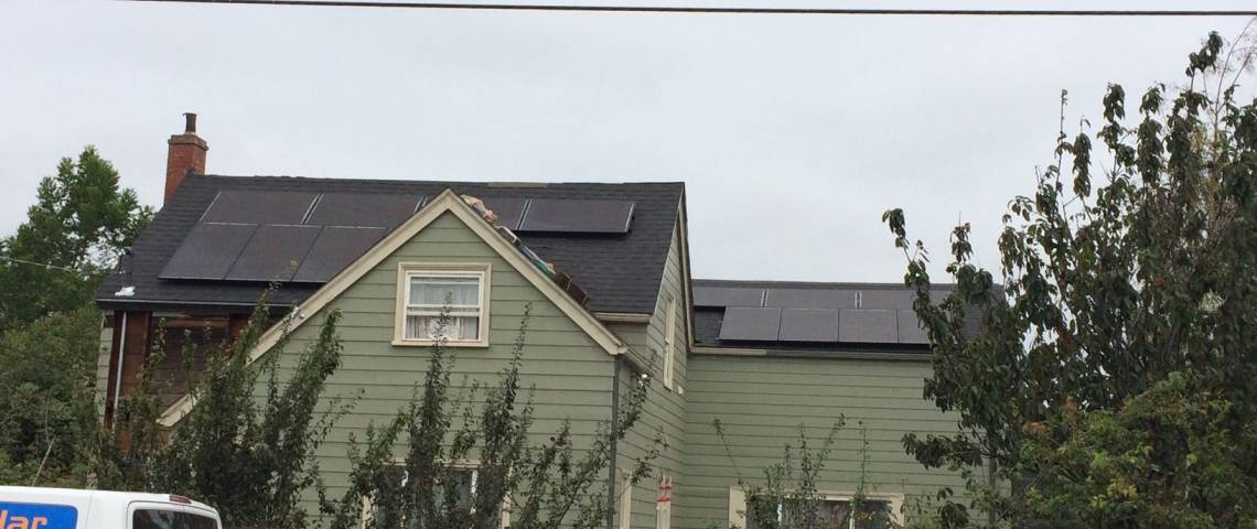 Asphalt Shingle Solar Panel Installation in Fortuna, CA (9.69 kW) - 2