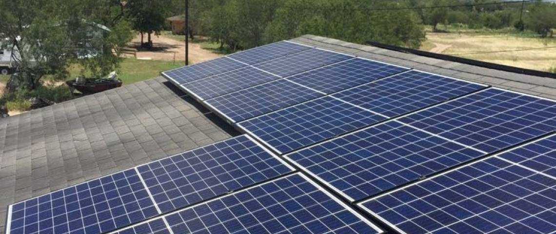Corrugated Metal Roof Solar Panel Installation in Rio Grande City, TX (7.54 kW) - 2