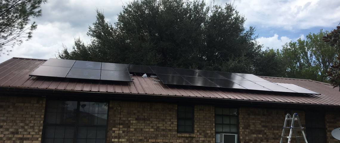 Solar Panel Installation in Teague, TX