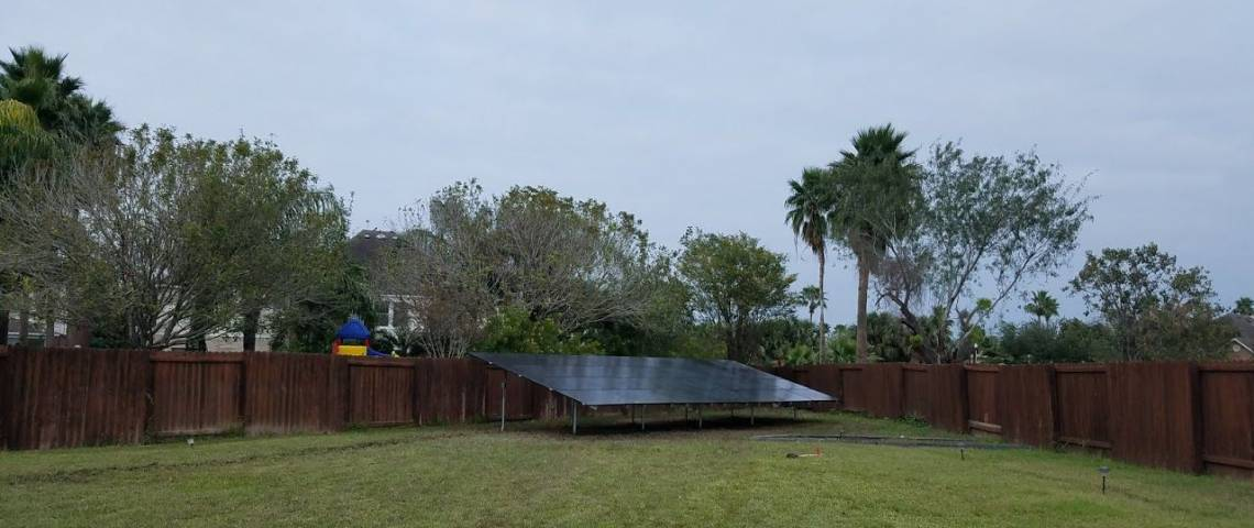 Ground Mount PV System in Mission TX