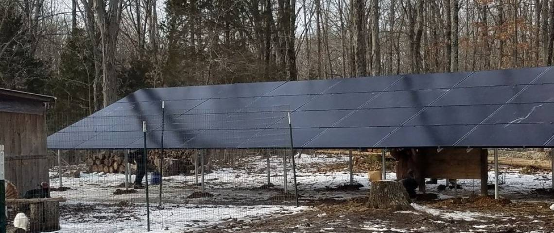 Ground Mount Photovoltaic System in Fredericktown MO