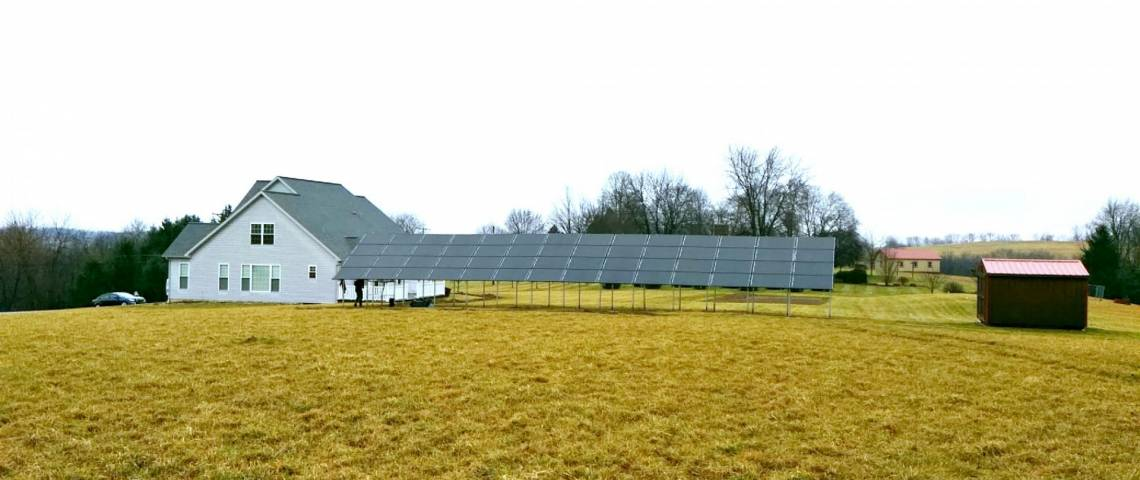 Ground Mount Solar Energy System in New Brighton PA