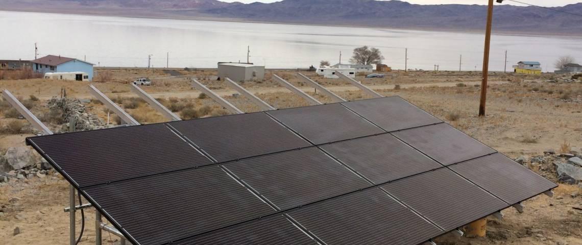 Ground Mount Solar Energy System in Walker Lake NV