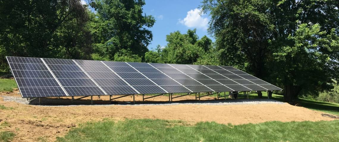Ground Mount Solar Power System in Wexford PA