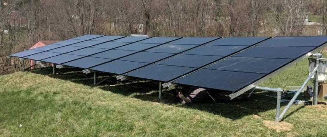 Hilltop Ground Mount Solar Solar in Washington PA