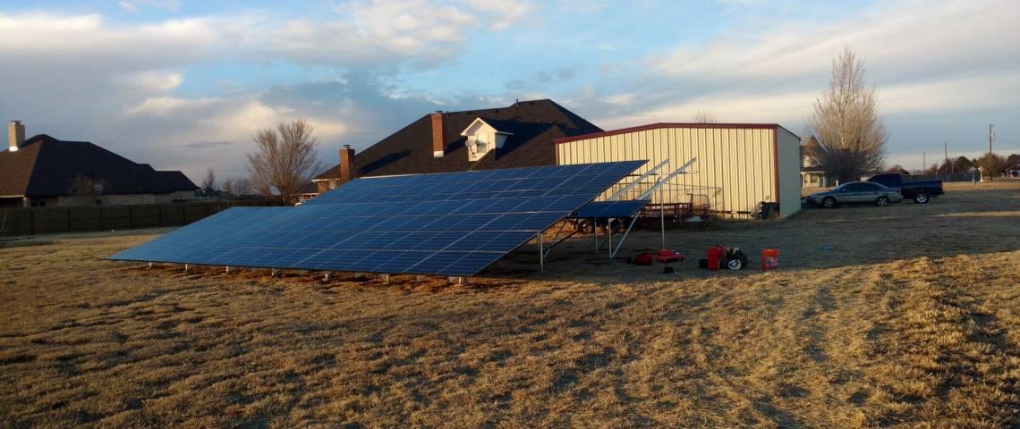 Solar Panel Installation in Amarillo, TX - 1