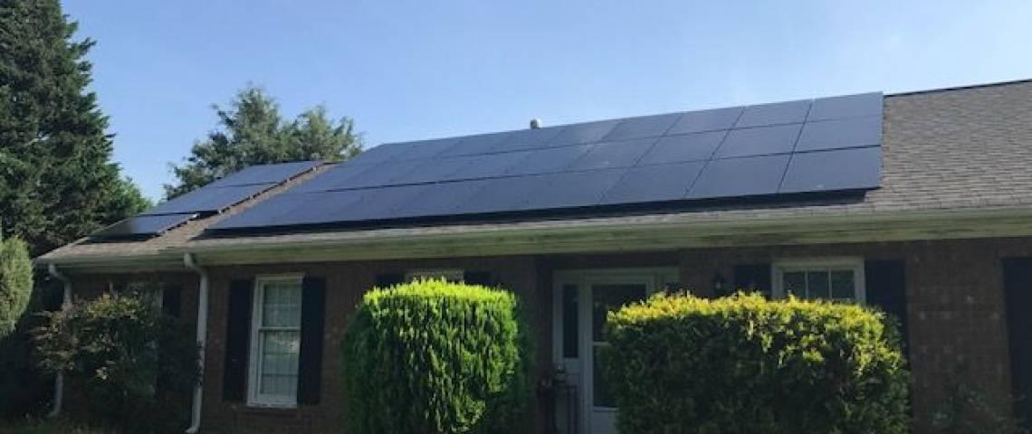 Solar Panel Installation in Kernersville, NC (9.28 kW) - 2