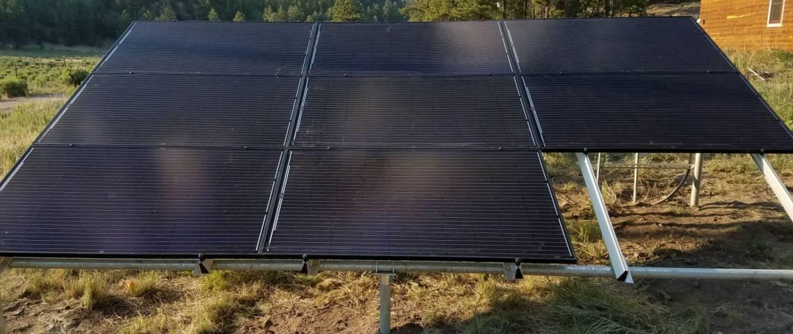 Ground Mount Solar Panel Installation in Datil, NM - 4