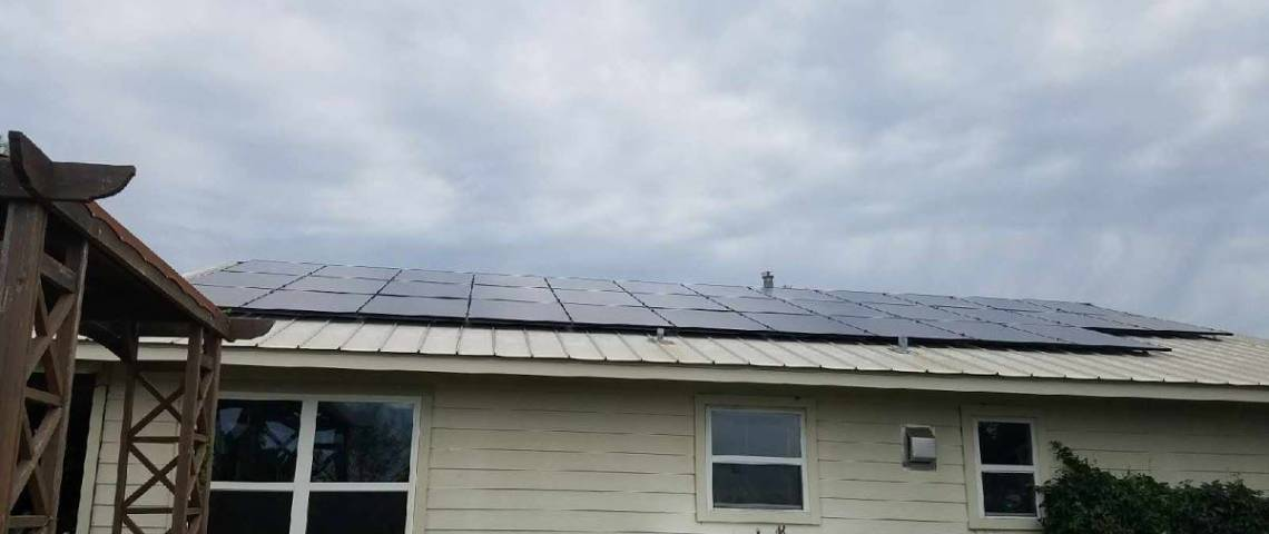 Solar Panel Installation in Lometa, TX - 6