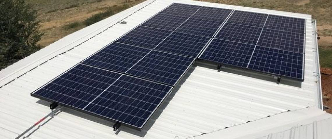 Corrugated Steel Roof Solar Panel Installation in Walden, CO (9.57 kW) - 2