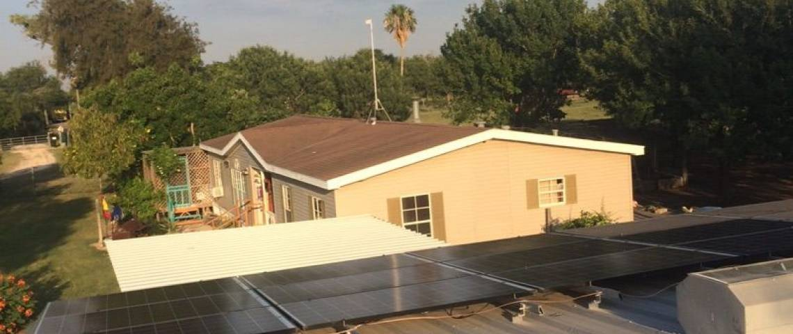 Corrugated Steel Roof Solar Panel Installation in Mission, TX (10.06 kW)