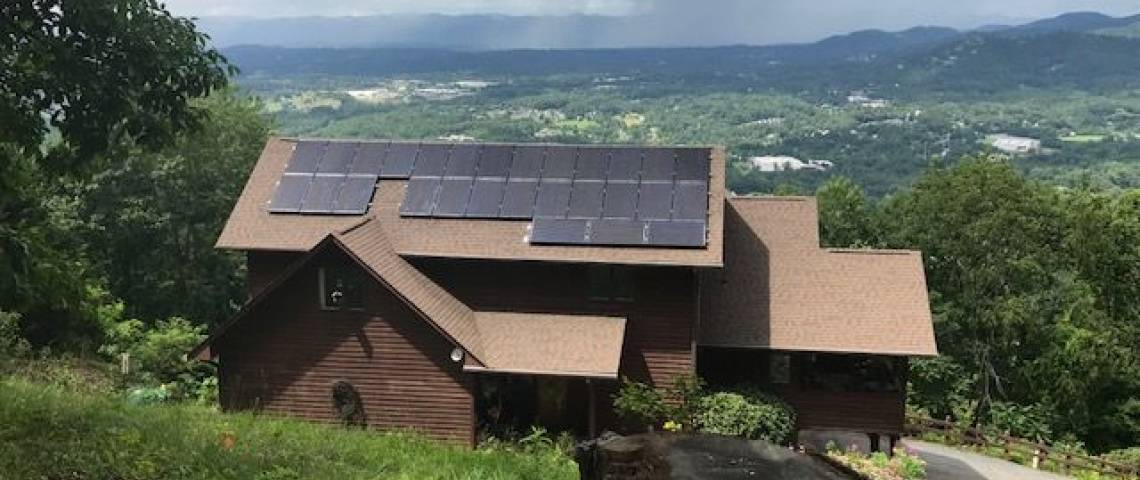 Composition Shingle Roof Mount in Asheville, NC (8.12 kW) - 2