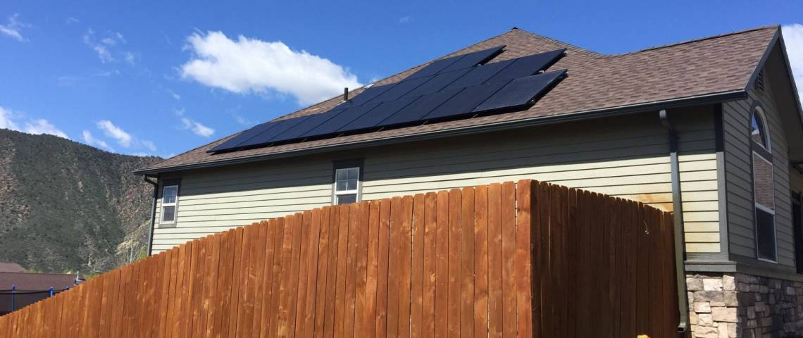 Solar Panel Installation in New Castle, CO - 1