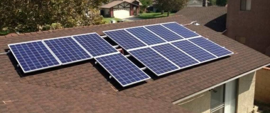 Solar Panel Installation in Rialto, CA - 1