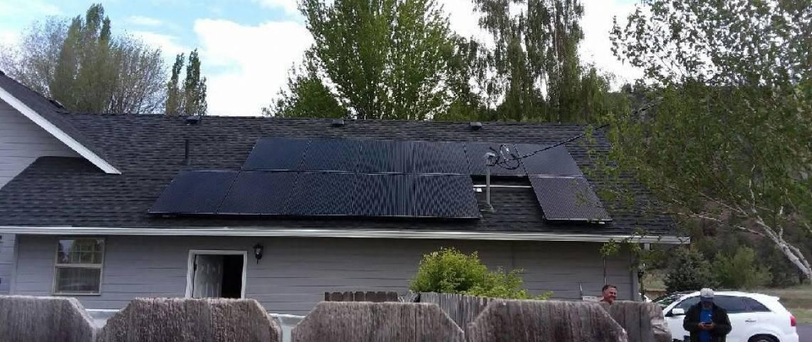 PV System Installation in Dorris CA