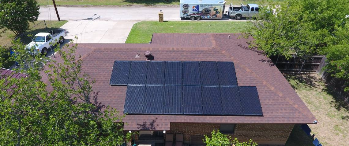 PV System Installation in Mineral Wells TX