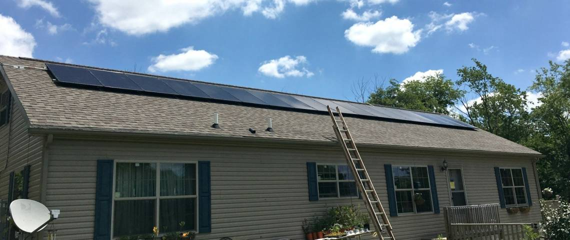 PV System Installation in Saltsburg PA
