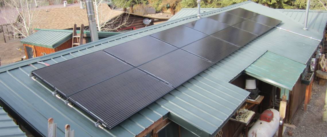 PV System Installation in South Fork CO