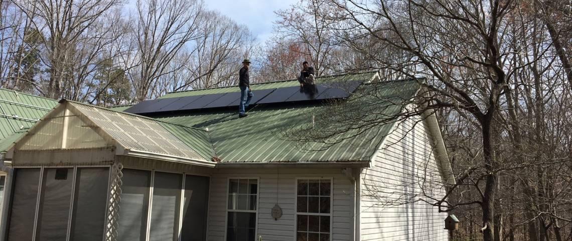 PV System Installation in Trinity NC