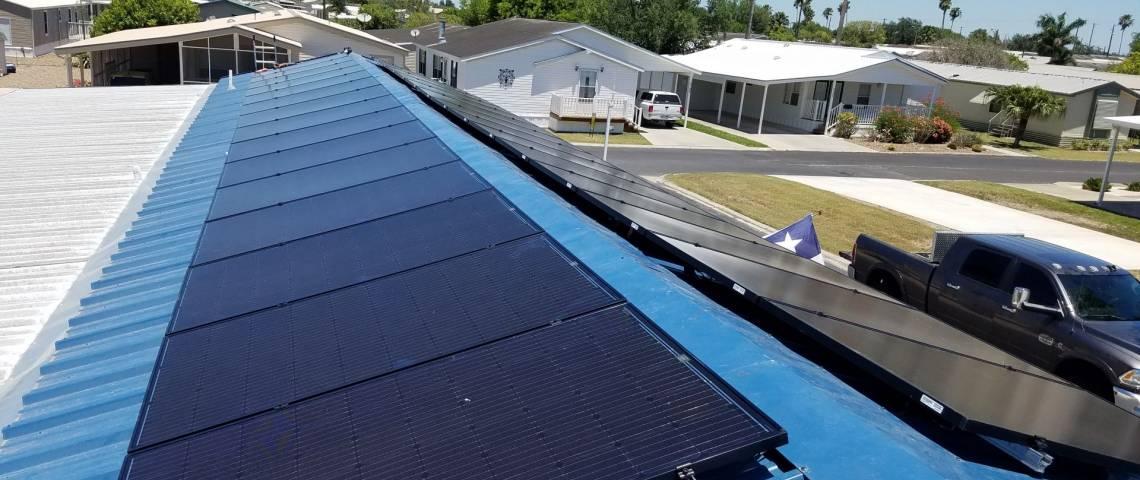 Weslaco, TX Solar Panel Installation - 1
