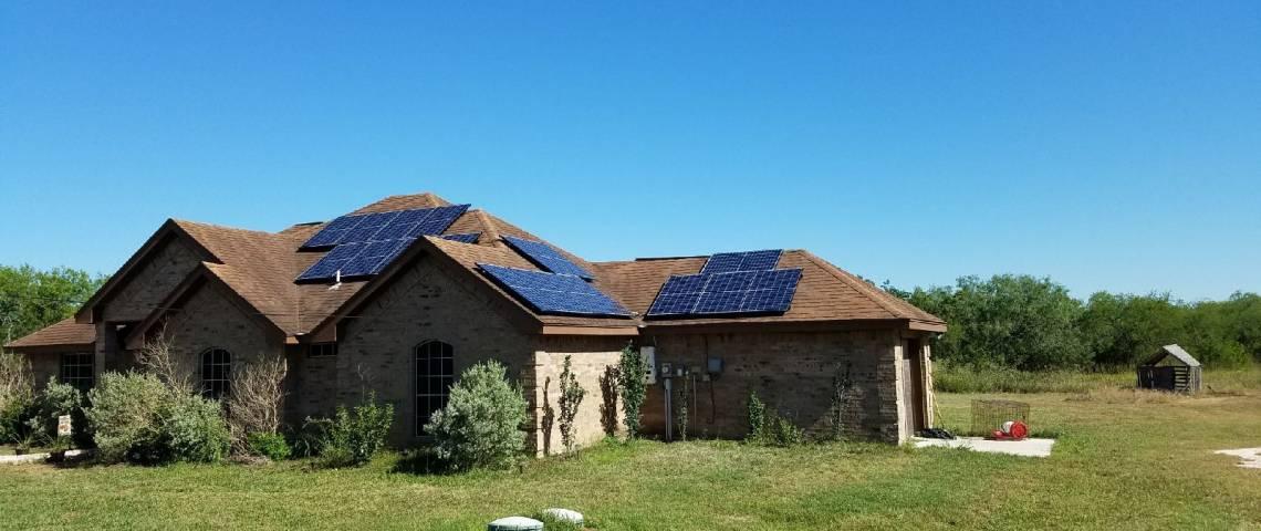 Solar Panel Installation in Orange Grove, TX - 2