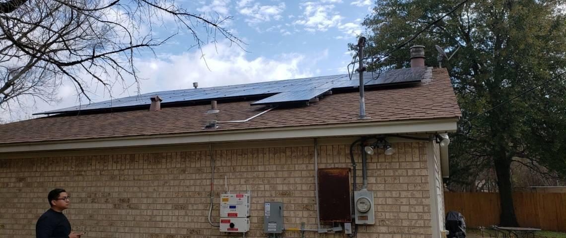 Photovoltaic Installation in Bryan TX