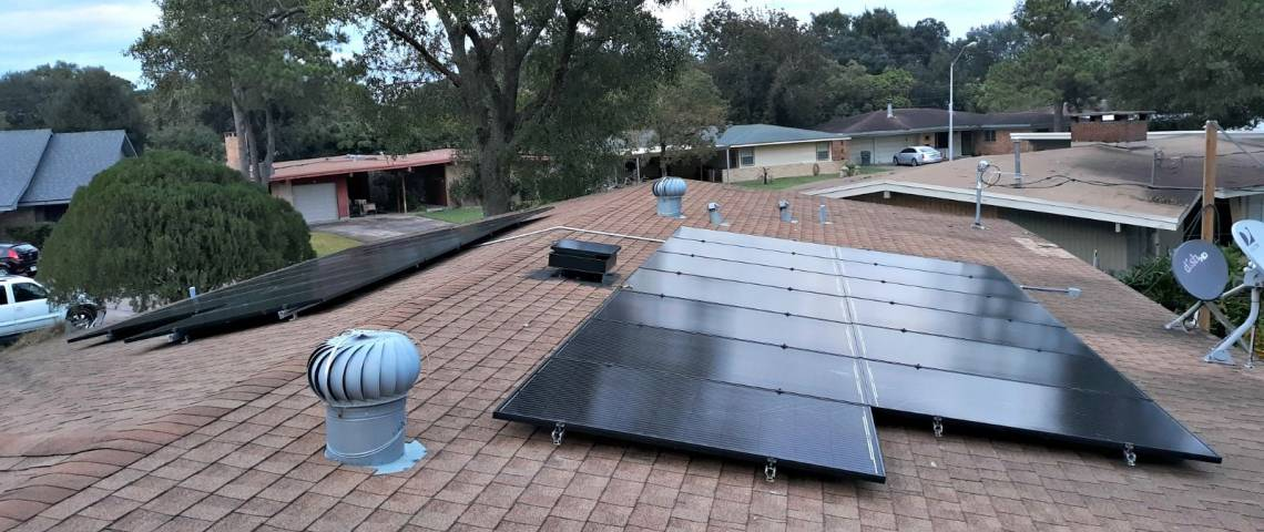 Photovoltaic System Install in Port Arthur TX
